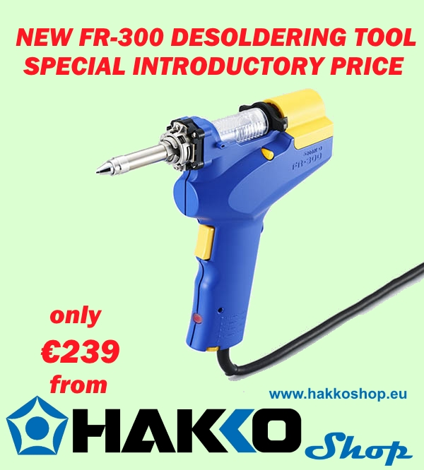 Hakko FR-300 special offer