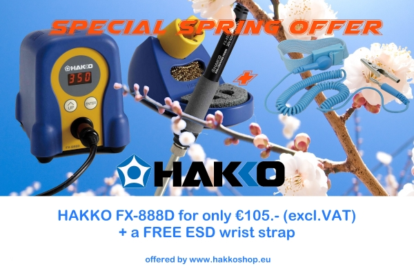 Hakko Special Spring Offer