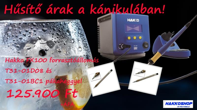 Hűsítő árak: Hakko FX100
