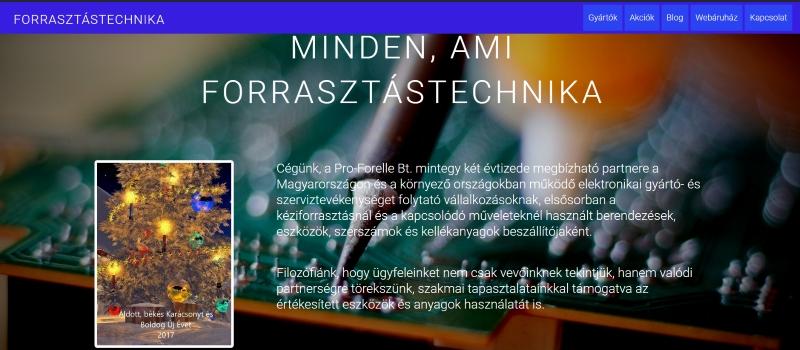 forrasztastechnika.hu nyitólap