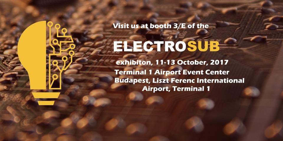 Invitation to Electrosub tradeshow